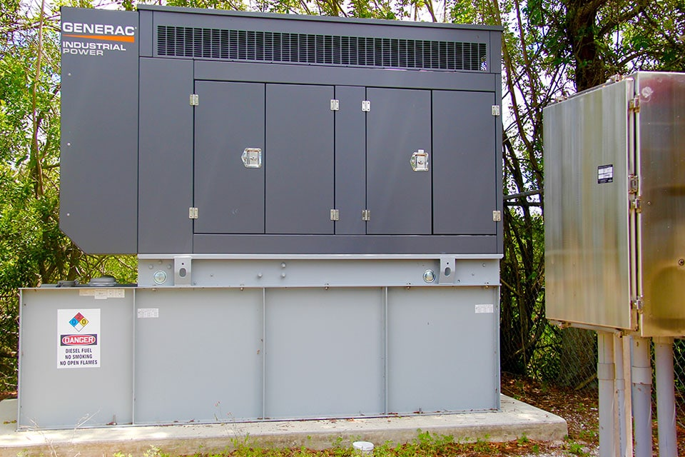 Industrial Backup Generator