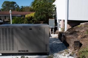 Florida Power Kohler Generator