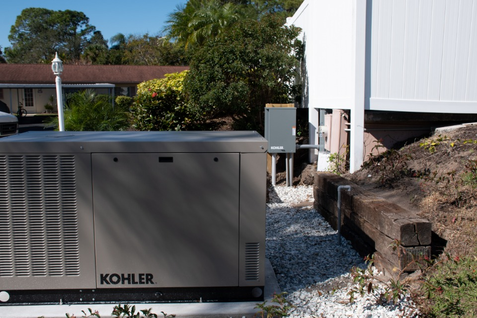 Florida Power Kohler Generator