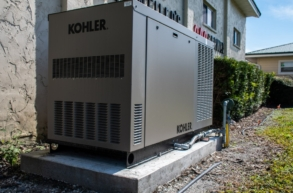 Commercial Generator Fl power
